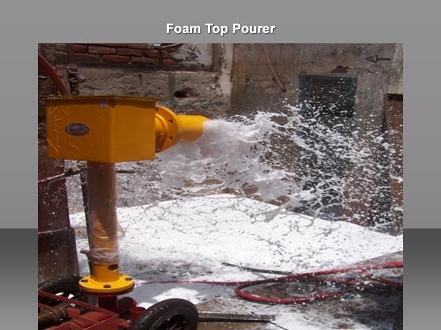 Foam Top Pourer